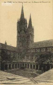 Cl 06 270 Caen-Le cloître fondé par Guillaume le Conquérant