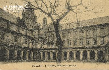 Cl 06 275 Caen-Le cloître (abbaye aux hommes)
