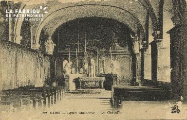 Cl 06 279 Caen-Lycée Mlaherbe-La chapelle