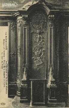 Cl 06 282 Caen-Le lycée Malherbe-Abbaye aux hommes-Detail de la chapel