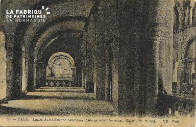 Cl 06 285 Caen-Eglise St Etienne(ancienne abbaye aux hommes)-Galerie d
