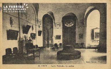 Cl 06 289 Caen-Lycée Malherbe-Le parloir