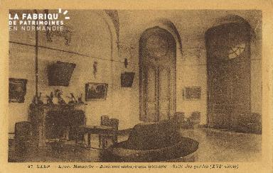 Cl 06 290 Caen-Lycée Malherbe-Ancienne abbaye aux hommes-Salle des gar