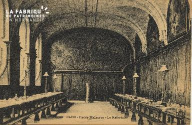 Cl 06 294 Caen-Lycée Malherbe-Le réféctoire
