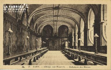 Cl 06 295 Caen-Abbaye aux hommes-Réféctoire des moines