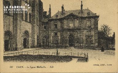 Cl 06 298 Caen-Le lycée Malherbe