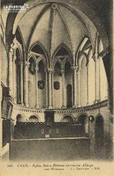 Cl 06 316 Caen-Eglise St Etienne (ancienne abbaye aux hommes-Le sacris