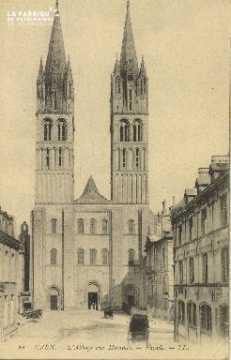 Cl 06 317 Caen-Abbaye aux hommes-Façade
