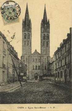 Cl 06 318 Caen-Eglise St Etienne