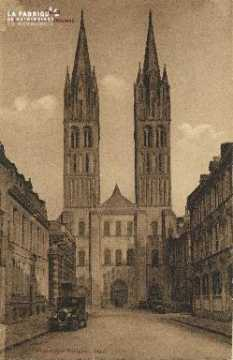 Cl 06 319 Caen-Abbaye aux hommes