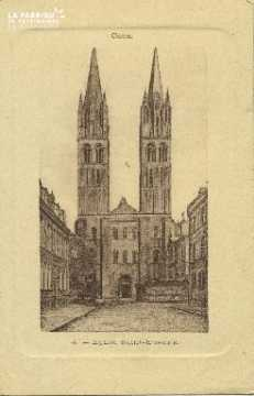 Cl 06 320 Caen-Eglise St Etienne
