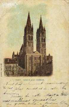 Cl 06 327 Caen-Abbaye aux hommes