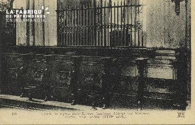 Cl 06 330 Caen-Eglise St Etienne (ancienne abbaye aux hommes)stalles,