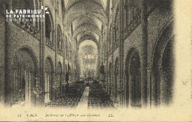 Cl 06 332 Caen-Intérieur de l'abbaye aux hommes