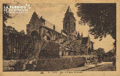 Cl 06 336 Caen-Vielle église Saint Martin