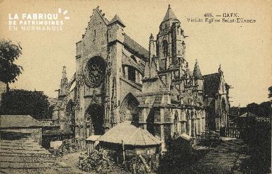 Cl 06 337 Caen-Vieille église St Etienne