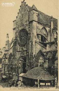 Cl 06 347 Caen-Le vieux St Etienne-Portail ouest