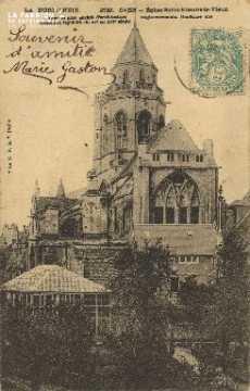 Cl 06 350 Caen-Eglise du vieux St Etienne