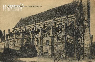Cl 06 354 Caen-l'Eglise du vieux St Gilles