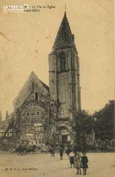 Cl 06 357 Caen-La vielle église St Gilles