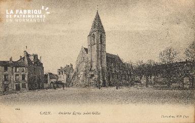 Cl 06 359 Caen-Ancienne église St Gilles