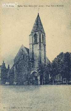 Cl 06 362 Caen-L'Eglise St Gilles-Place Reine