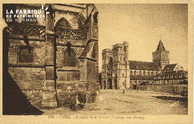 Cl 06 366 Caen-l'Eglise de la trinité (l'abbaye aux dames)
