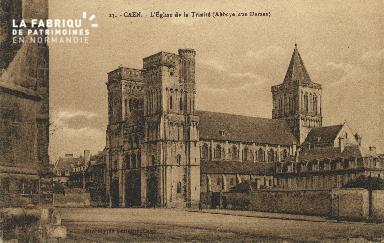 Cl 06 369 Caen-l'Eglise de la trinité (abbaye aux dames)