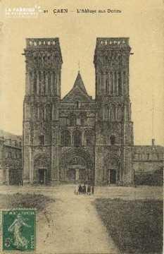 Cl 06 372 Caen-L'Abbaye aux dames
