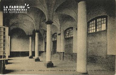 Cl 06 374 Caen-Abbaye aux dames-Salle St Joseph