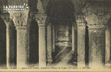 Cl 06 376 Caen-Eglise de la trinité-Abbaye aux dames-La crypte (XIe si