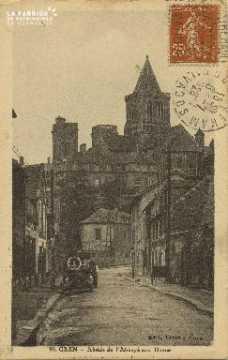 Cl 06 377 Caen-Abside de l'abbaye aux dames