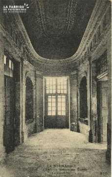 Cl 06 378 Caen-Abbaye aux dames-Le vestibule
