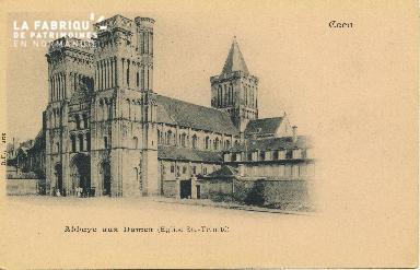 Cl 06 380 Caen-L'Abbaye aux dames (église Ste-trinité)
