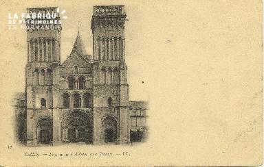 Cl 06 385 Caen-Façade de l'abbaye aux dames