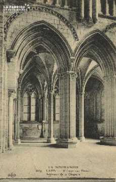 Cl 06 388 Caen-Abbaye aux dames-Intérieur de la chapelle