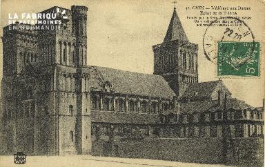 Cl 06 396 Caen-L'abbaye aux dames-Eglise de la trinité-Fondée par la R