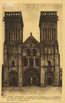 Cl 06 398 Caen-Eglise de la trinité ou de l'abbaye aux dames, fondée e