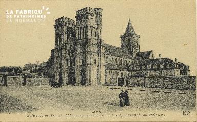 Cl 06 402 Caen-Eglise de la trinité, abbaye aux dames, ensemble sud-ou