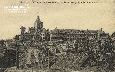 Cl 06 404 Caen-Ancienne abbaye aux dames (hospice)-Vue d'ensemble