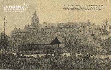 Cl 06 406 Caen-Eglise de la trinité et hôtel dieu-Abbaye aux dames, fo