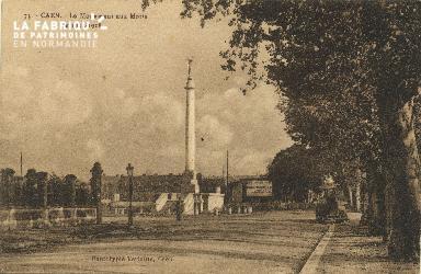 Cl 06 417 Caen-Le monument aux morts de 1914-1918