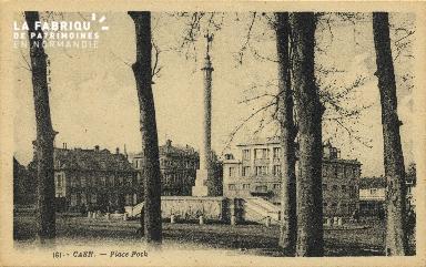 Cl 06 418 Caen-Place Foch