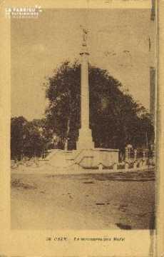 Cl 06 419 Caen-Le monument aux morts