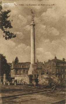 Cl 06 420 Caen-Le monument aux morts