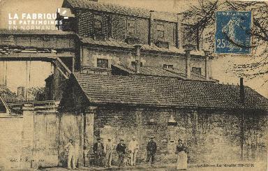 Cl 06 421 Caen-Le moulin SINGER