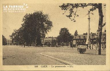 Cl 06 423 Caen-La promenade