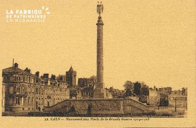 Cl 06 426 Caen-Monument aux morts de la grande guerre 14-18