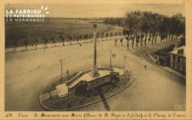 Cl 06 430 Caen-Monument aux morts et le champ de courses