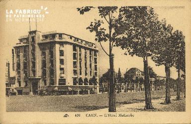 Cl 06 432 Caen-L'hôtel Malherbe